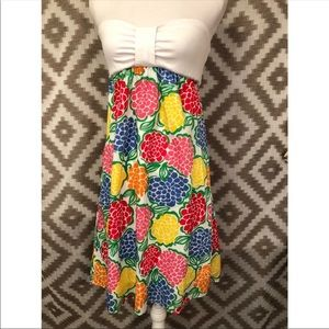Lilly Pulitzer Minnie Zinnie Strapless Dress